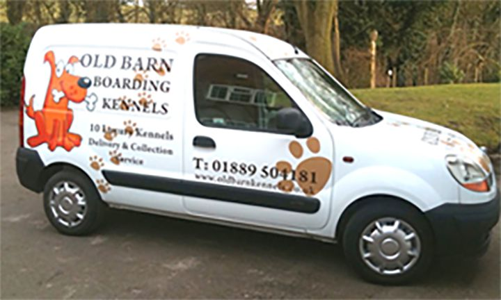 Old Barn Kennels delivery and collection service